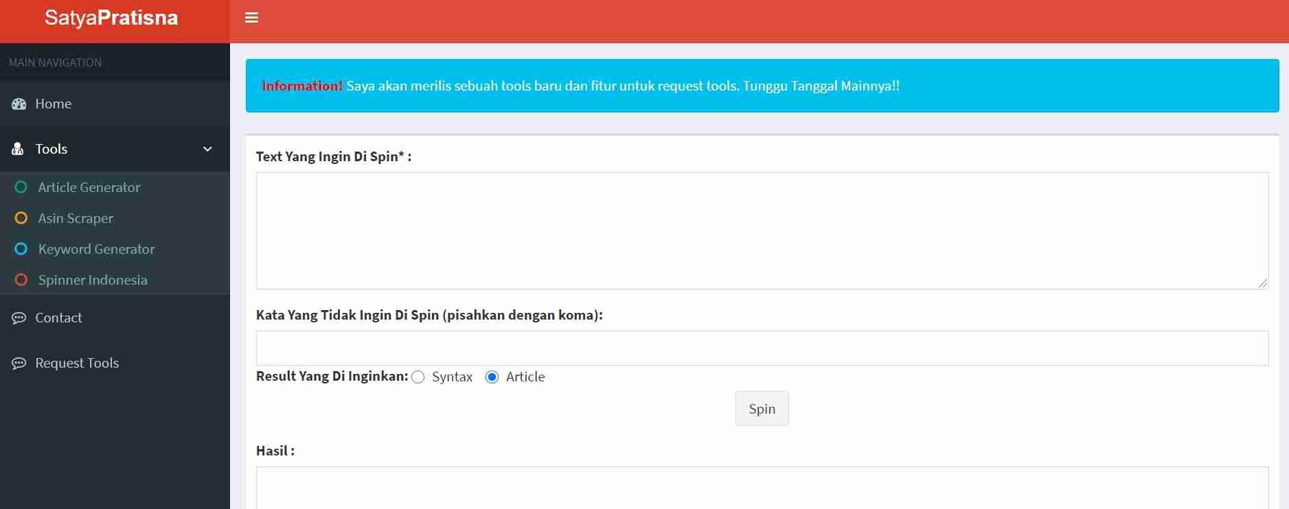 spinner artikel indonesia terbaik